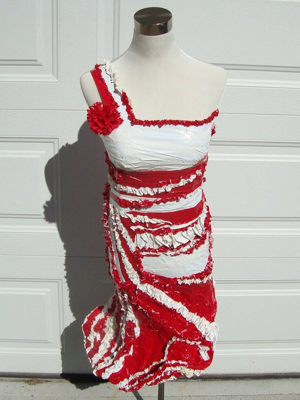 Prom Dress Duct Tape