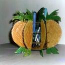 Cardboard Pineapple Pen Holder
