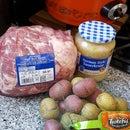 Sauer Pork and Potatoes