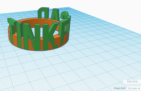 Designing Your Ring in TinkerCAD Pt3