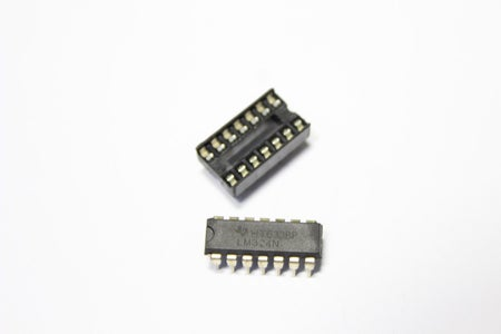LM324 Opamp and L298N Driver and SS495a