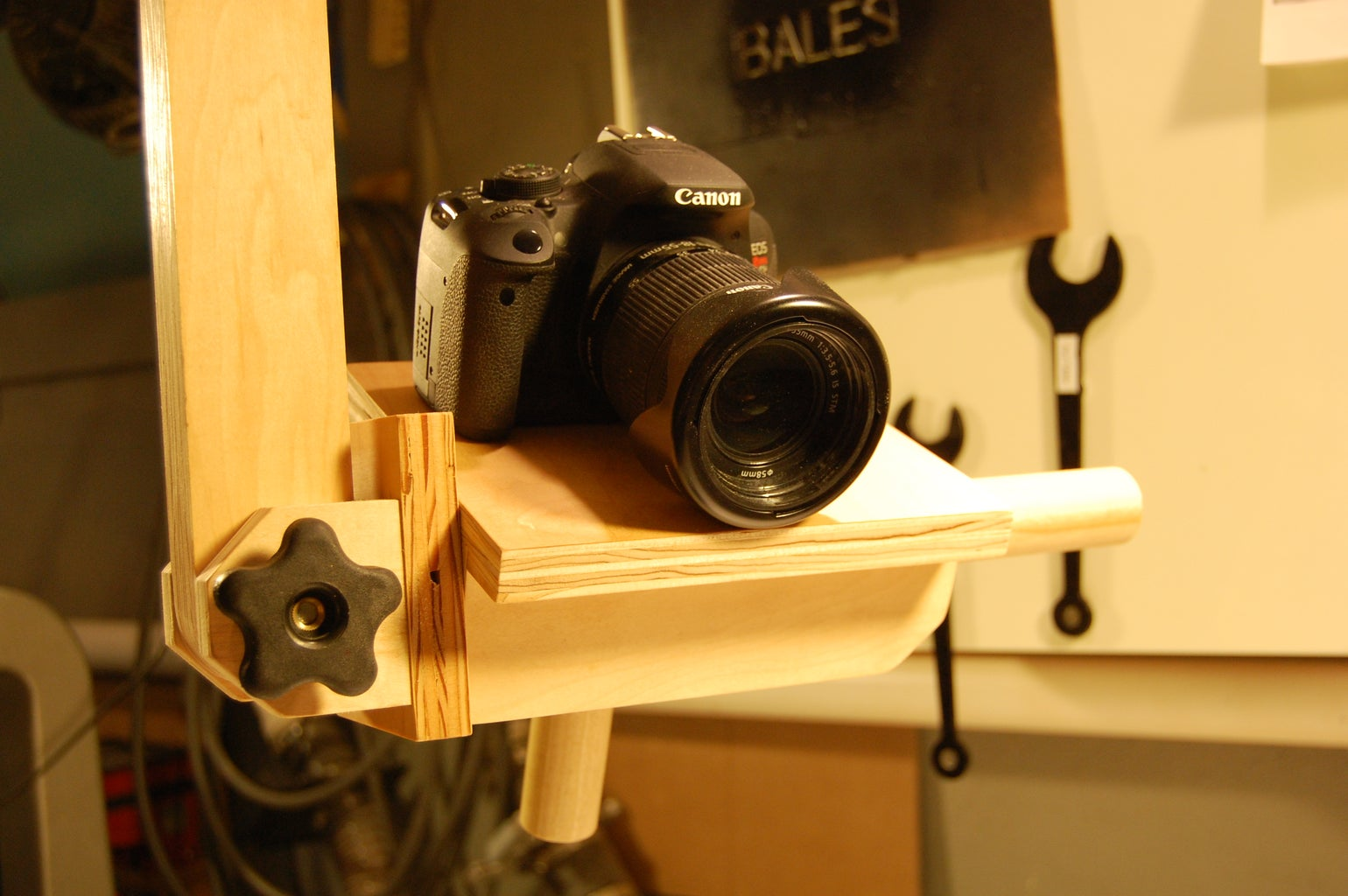 The Multi-Axis Camera Mount