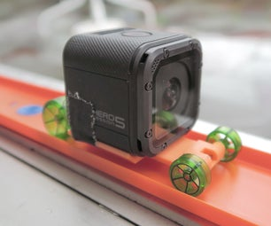 3D Printed Hot Wheels GoPro Car