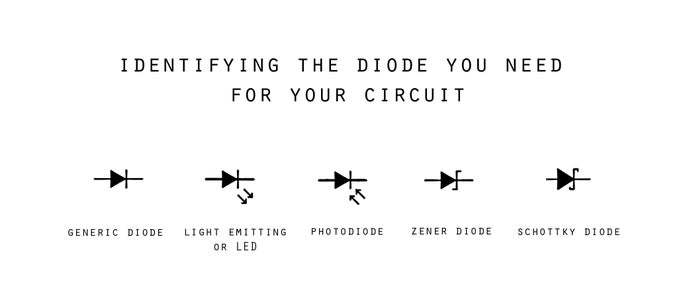 Different Uses for Different Diodes.