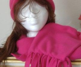 Sew EZ Fleece Hat & Scarf