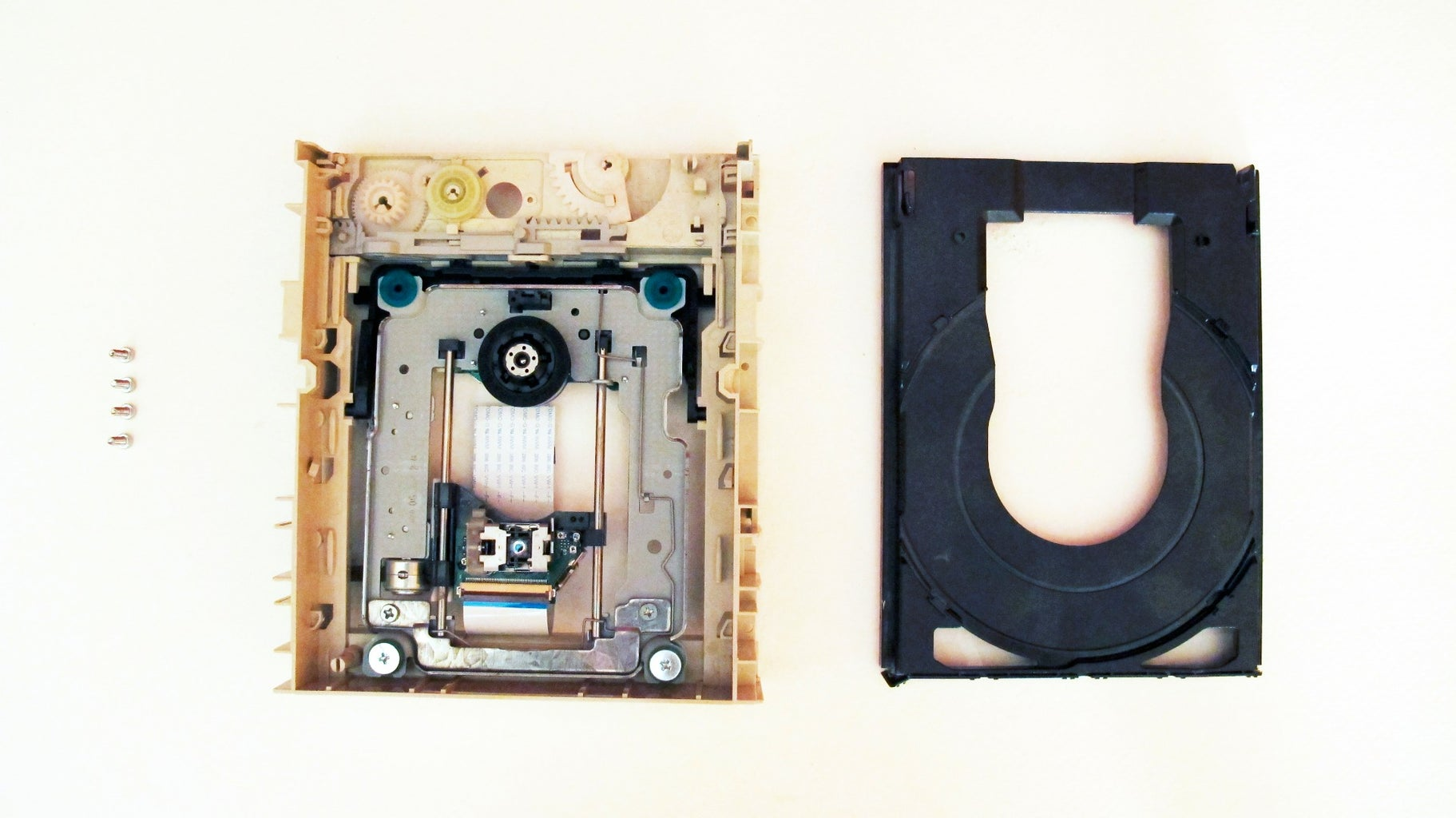 Isolate the Stepper Mechanism From the CD Drive.