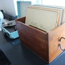 Restoring Vintage Box to Record Box