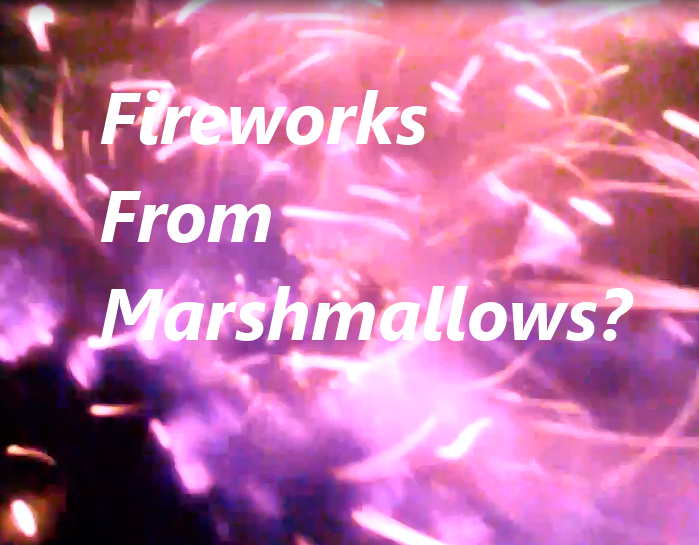 How-To Make Fireworks From Marshmallows, a Pyrotechnic Putty