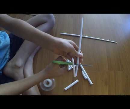 How to Make a Paper Pistol That Shoots Rubber Bands!