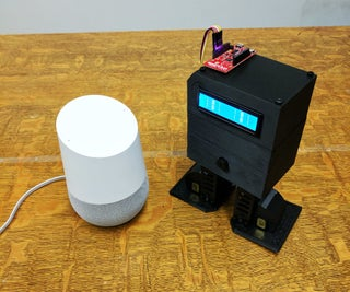Voice Control Chip-E With Google Home