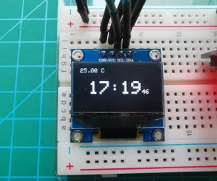 基于Arduino的手表 -  OLED,菜单,RTC