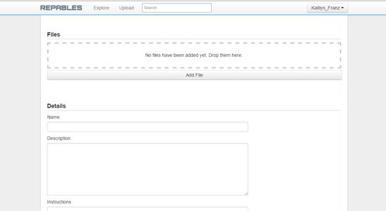 Upload the STL File