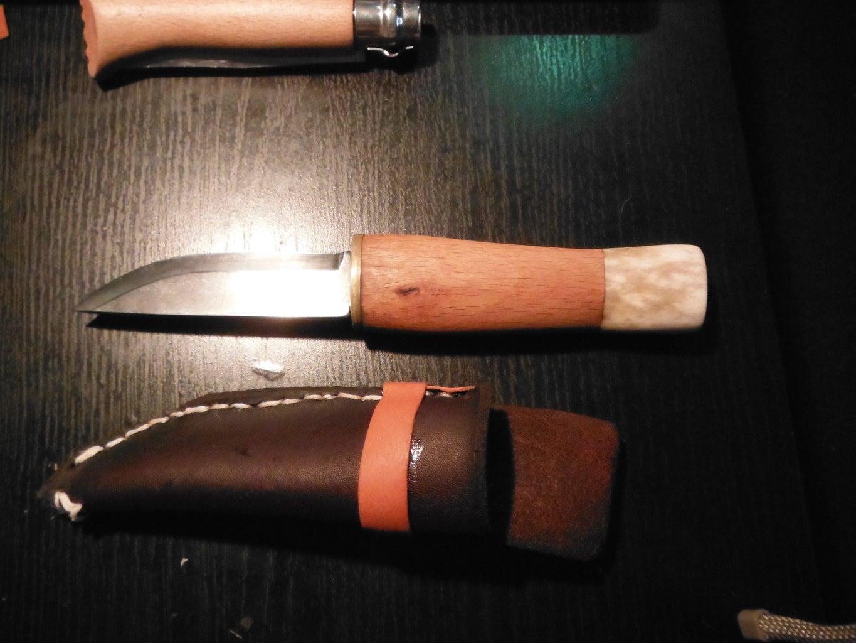 Handmade Knife and Sheath
