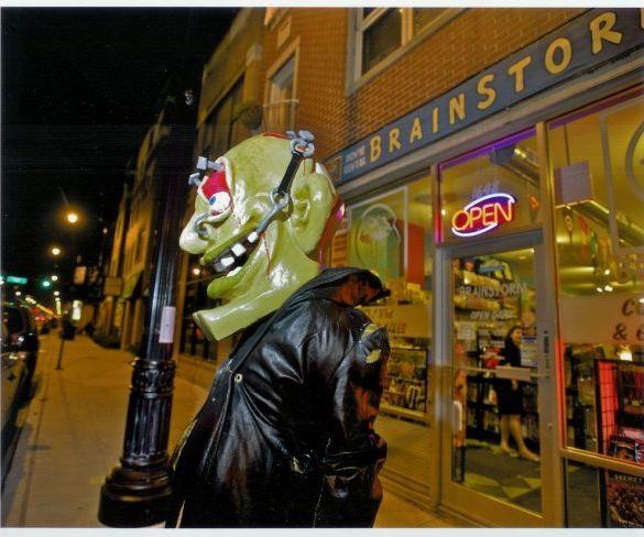 Giant Mask: Horror Head!
