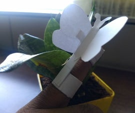 Paper Animatronic Butterfly
