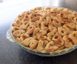 焦糖苹果pi馅饼