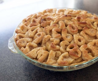 Caramel Apple Pi Pie
