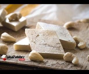 Kaju Barfi/ Kaju Burfi/ Kaju Katli/ Cashew Fudge by Sharmilazkitchen | Indian Authentic Dessert