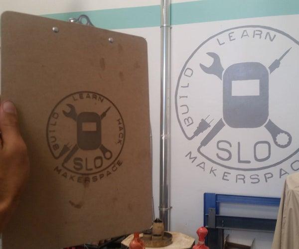 Custom Laser Engraved Clipboards