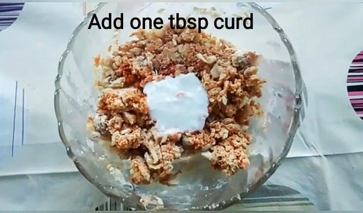 Add Baking Powder and Curd