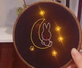 Handmade Lilypad Electronic Embroidery