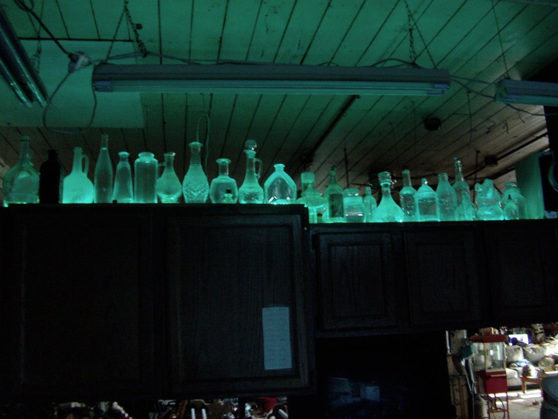 Kitchen Cabinet Bottle Lights