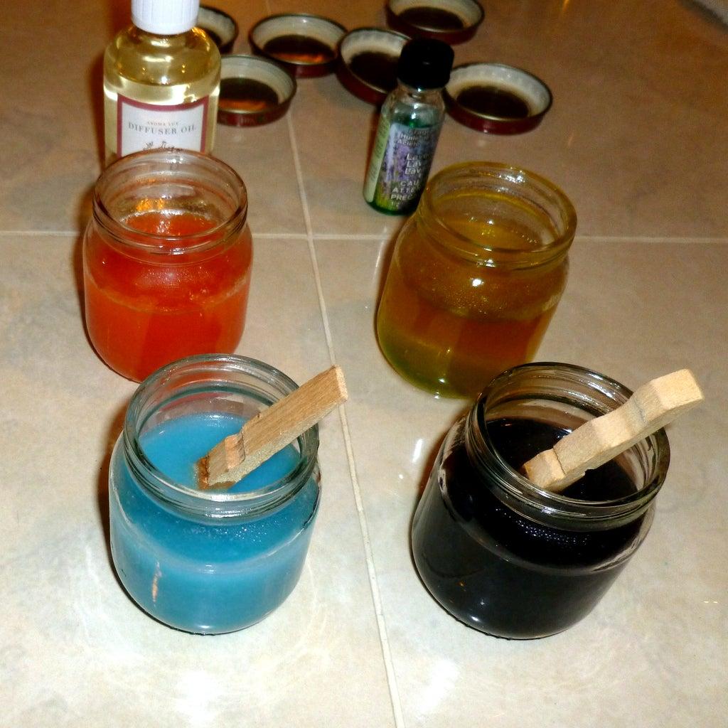 Homemade Air Freshener Gel