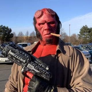 DIY Hellboy Costume