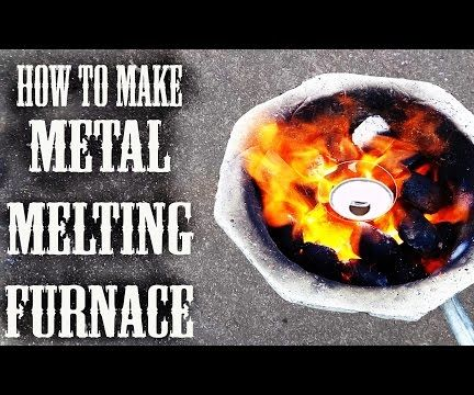 How to Make Cast Iron Metal Melting Furnace With in $10