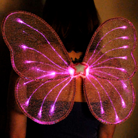 Fiber Optic Fairy Wings