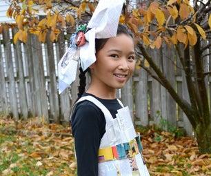 Paper Dress Costume