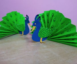 How to Make Peacock DIY (paper Craft)