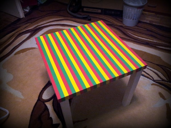 RASTA Table From IKEA
