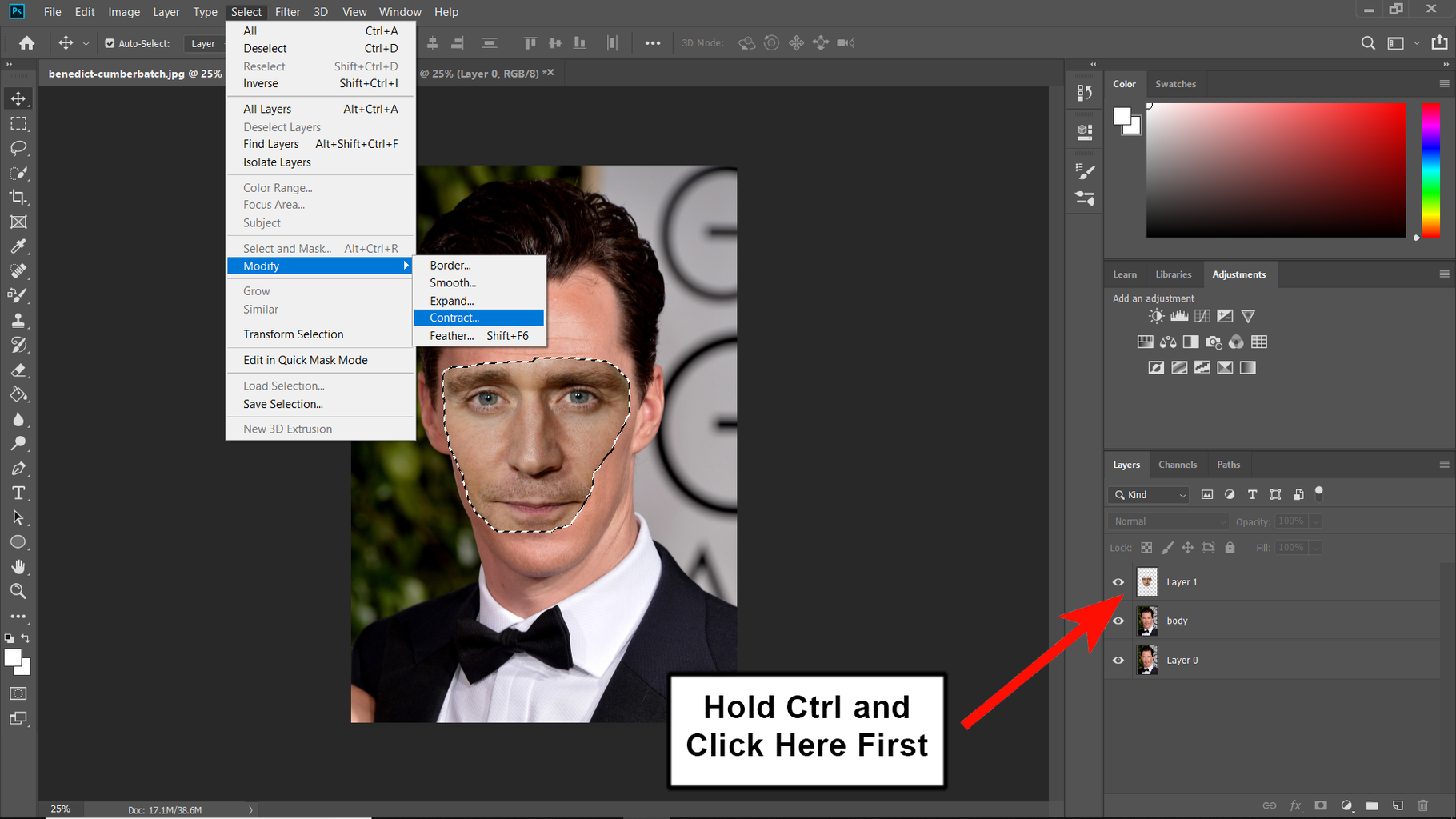 Create a Clipping Mask
