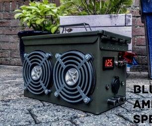 Bluetooth Ammo Can Speaker