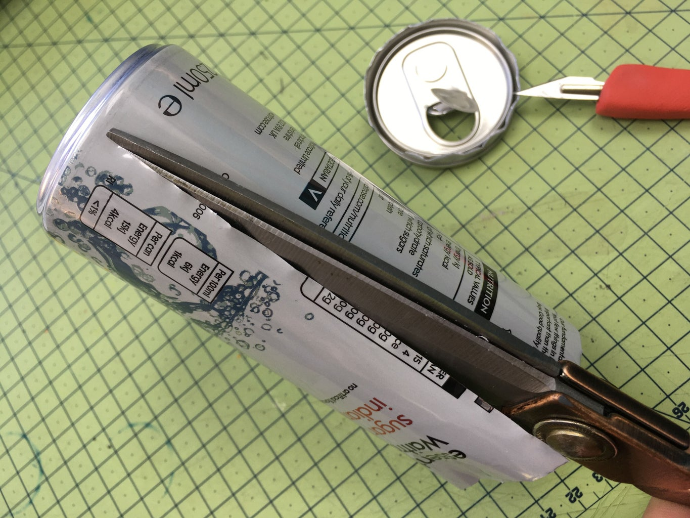 """Make a Hinge: """"Pro Version"""" - From Soda Cans"""