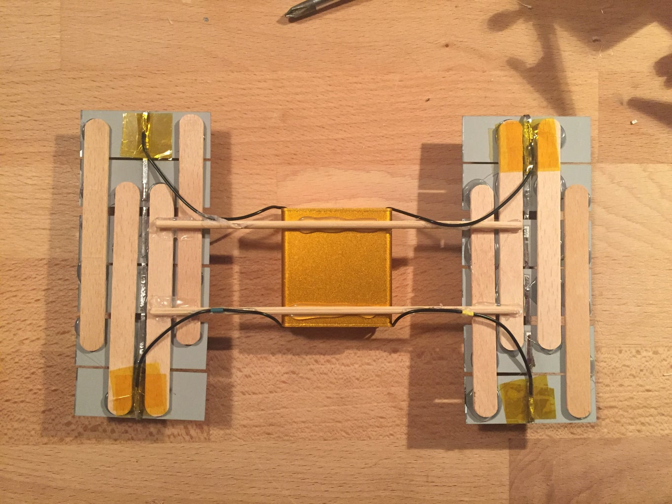 Step 4: Reinforce and Mount Solar Panels