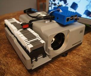 Super-fast DIY Slide Scanner