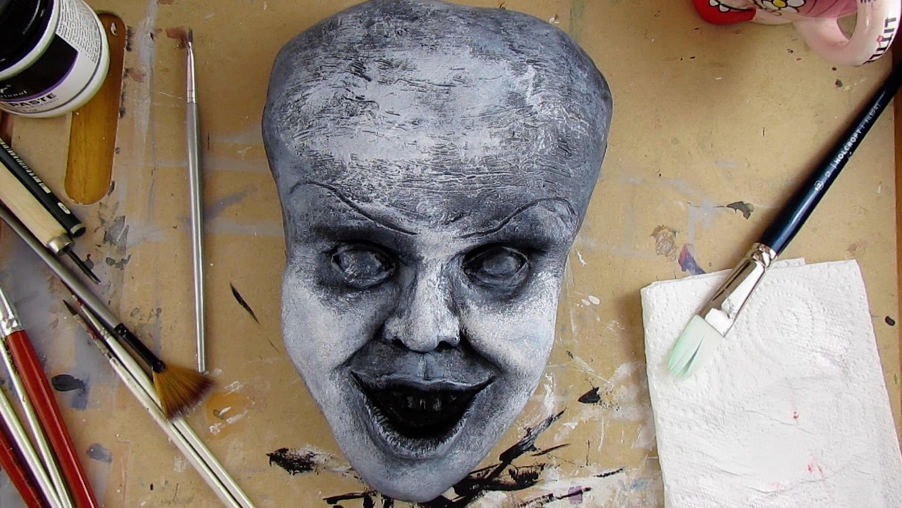 Painting the Face