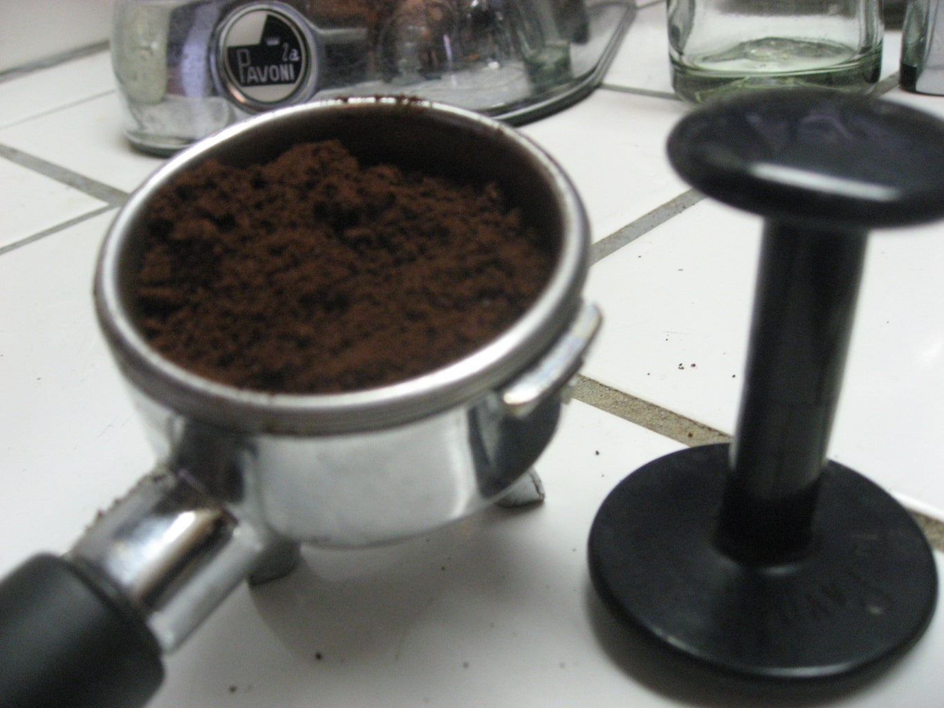 Grinding, Tamping, Pouring.