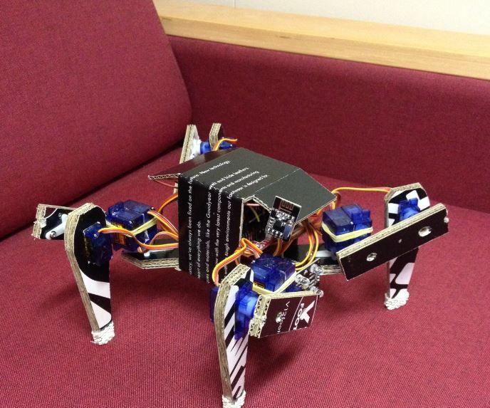 Cardboard Spider (DIY Quadruped)