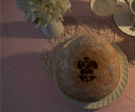 How to Make and Stencil a Loaf of Bread