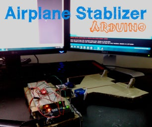 Airplane Stabilization Project - Arduino