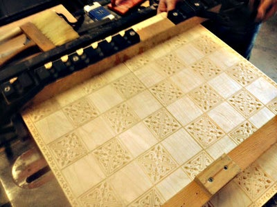 Making the Chess Board