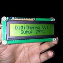 Digital Thermometer LCD