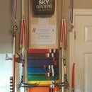 Martial Arts Belt and Weapons Rack