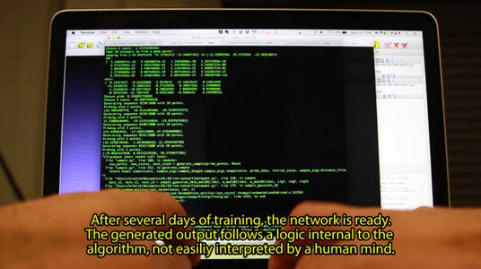 Train the Artificial Neural Network