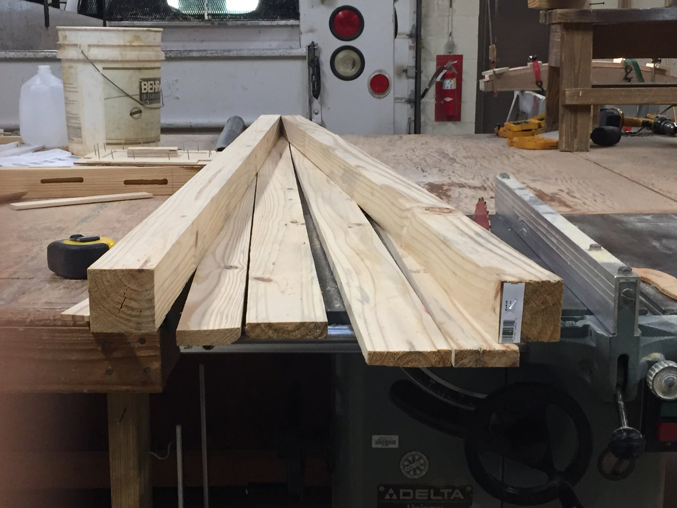 Sawing Up the Legs