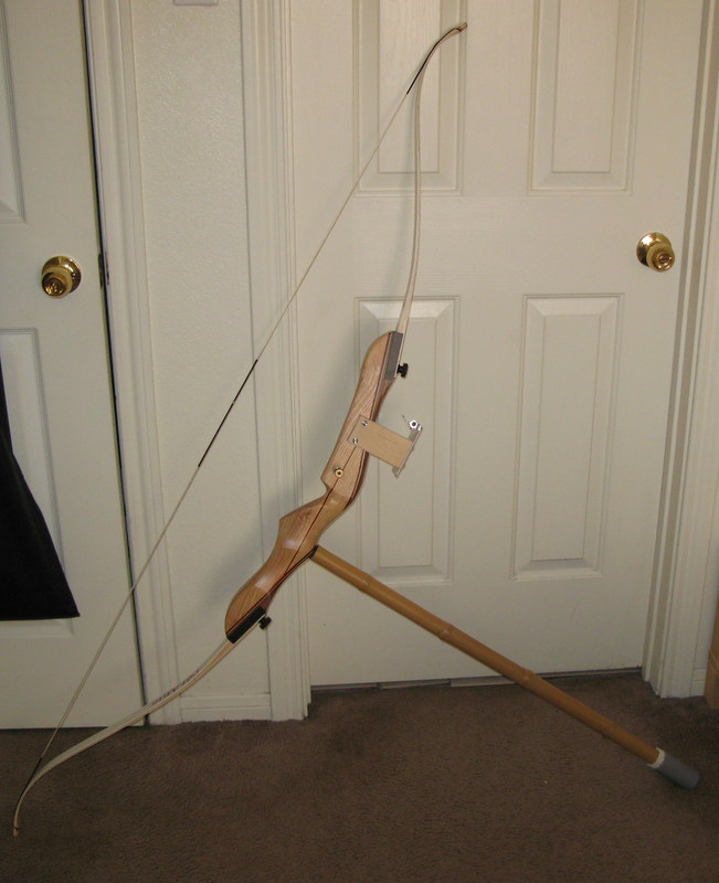 Bow stabilizer from bamboo