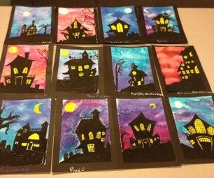 Halloween Pastel Project